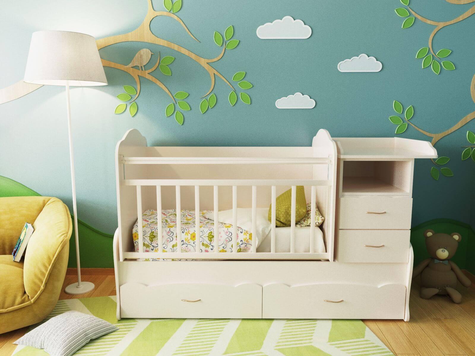 как выбрать кровать для новорожденного особенности выбора кроватки малыша